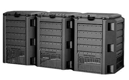 Prosperplast Kompostownik Module CompoGreen 1200L czarny (IKSM1200C) 1