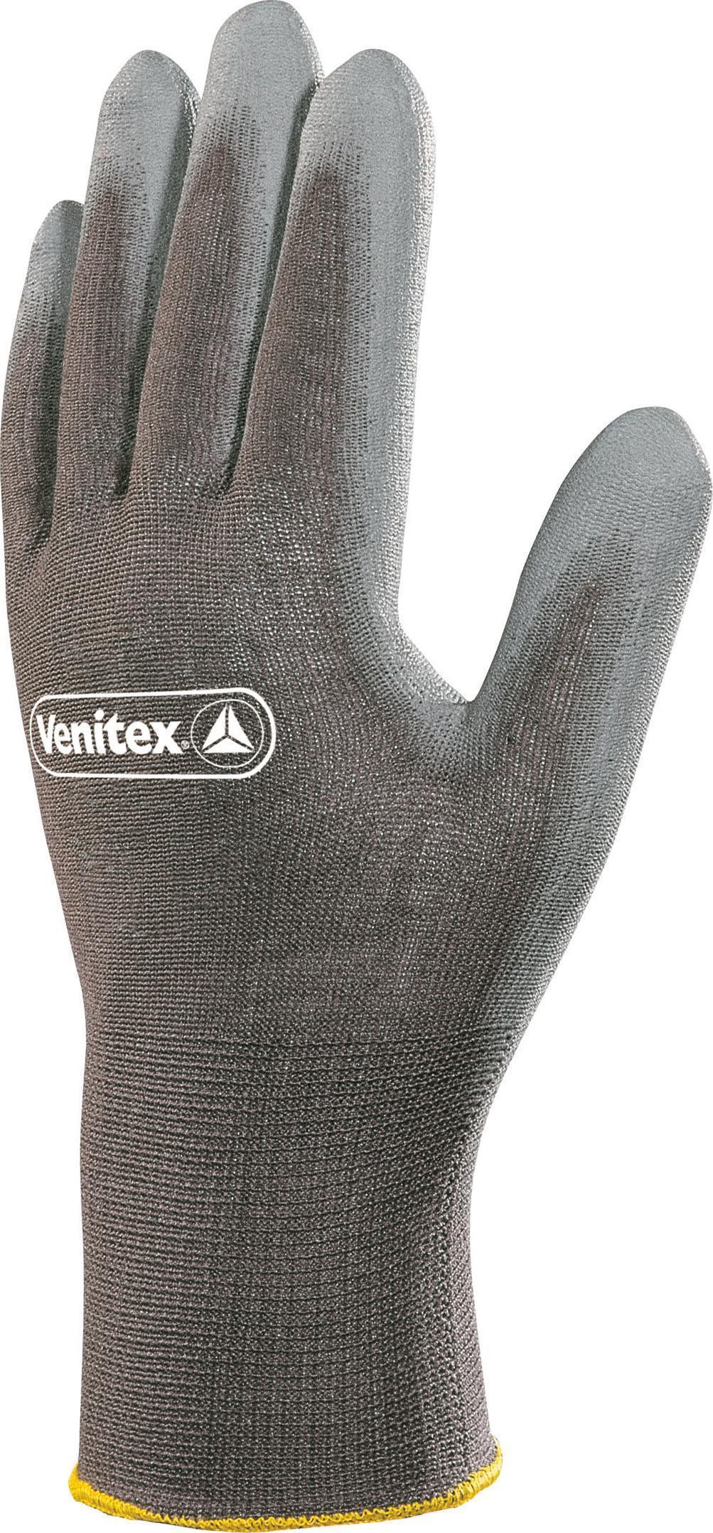 DELTA PLUS Rękawice VE702GR polamid/poliuretan rozmiar 9 VE702GR09 1