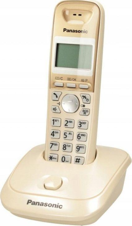 Telefon stacjonarny Panasonic KX-TG2511PDJ Złoty  1