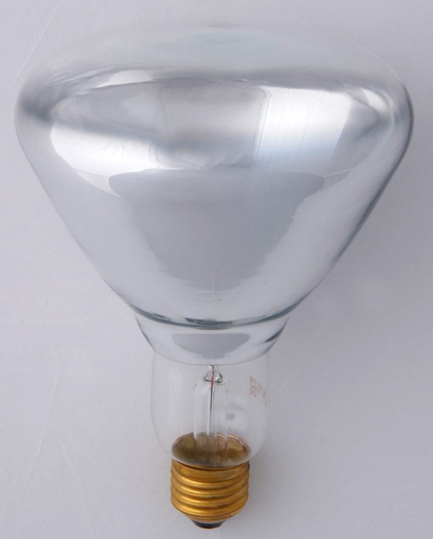 Helios Promiennik podczerwieni przeźroczysty R123 E27 150W 230V szkło miękkie z podwójnym odbłyśnikiem PRO-1862 1