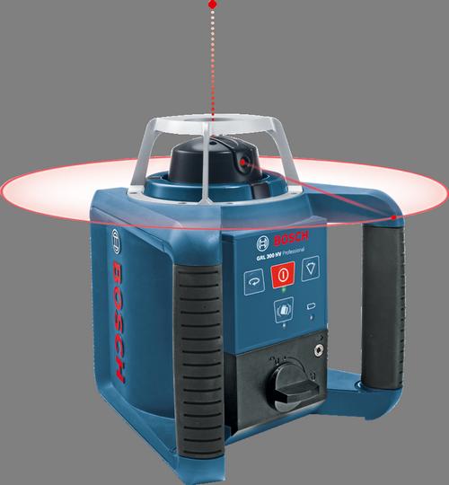 Bosch Laser obrotowy Bosch GRL 300 HV Professional odbiornik statyw pilot łata walizka ładowarka - 061599403Y 1