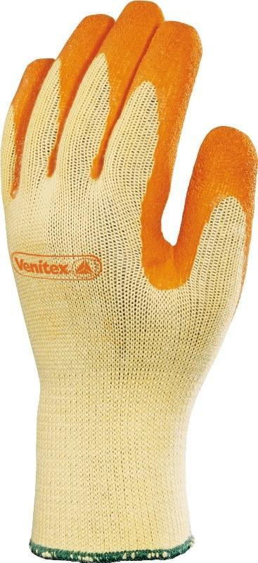 Delta Plus Rękawice VE730 lateks pomarańczowe rozmiar 8 VE730OR08 1