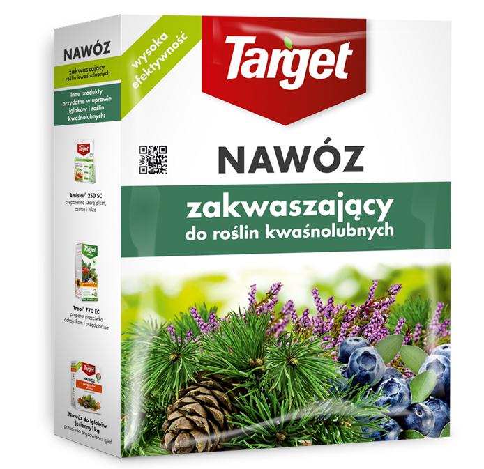 Target Nawóz granulowany do roślin kwaśnolubnych 1kg 1