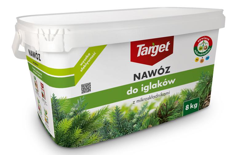 Target Nawóz granulowany do iglaków 8kg 1