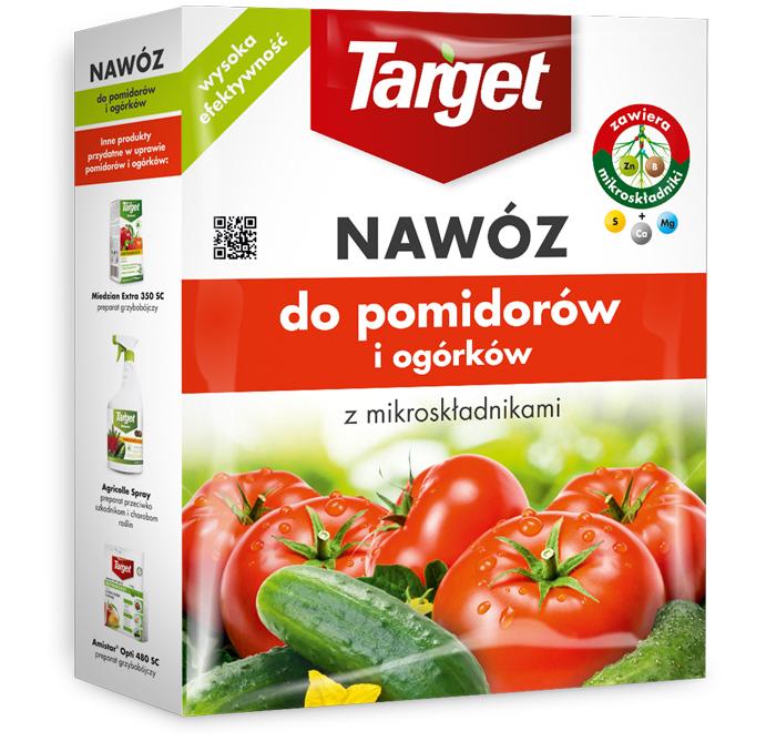 Target Nawóz granulowany do pomidorów i ogórków 1kg 1