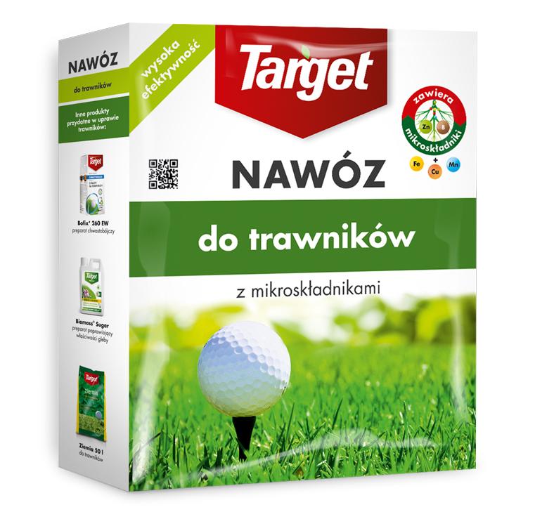 Target Nawóz granulowany do trawników 1kg 1