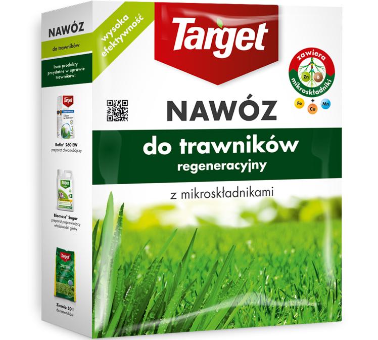 Target Nawóz granulowany do trawników regeneracyjny 1kg 1
