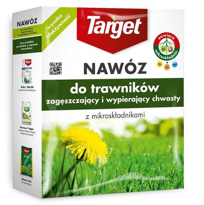 Target Nawóz granulowany do trawników zagęszczający 1kg 1
