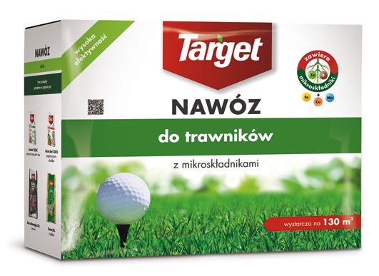 Target Nawóz granulowany do trawników 4kg 1