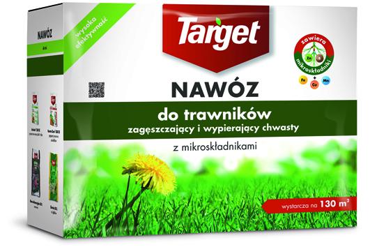 Target Nawóz granulowany do trawników zagęszczający 4kg 1