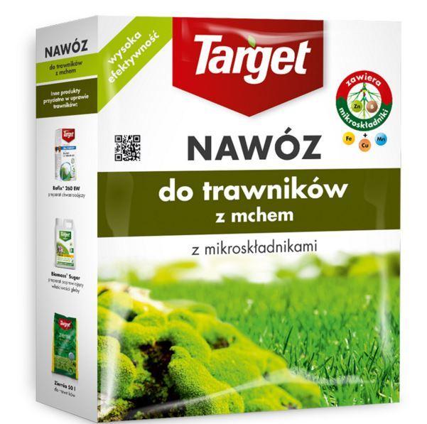 Target Nawóz granulowany do trawników z mchem 4kg 1
