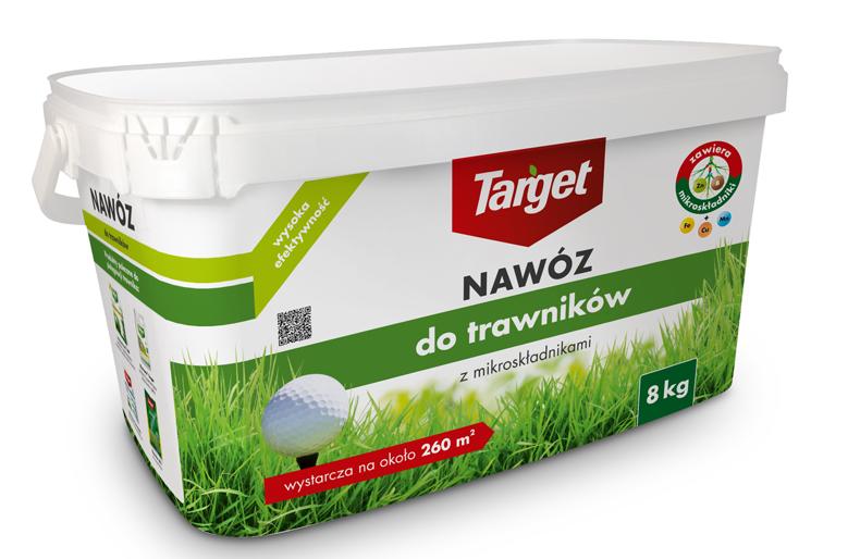 Target Nawóz granulowany do trawników 8kg 1