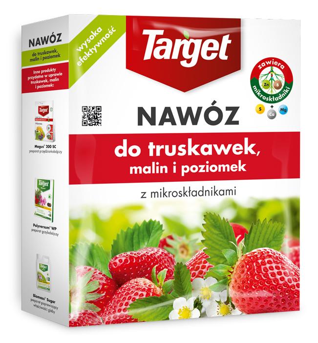 Target Nawóz granulowany do truskawek malin i poziomek 1kg 1