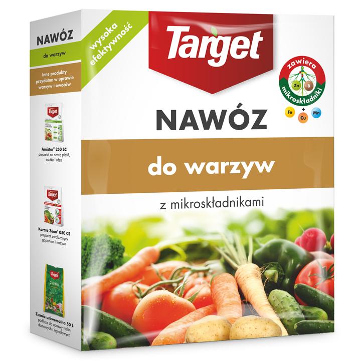 Target Nawóz granulowany do warzyw 1kg 1