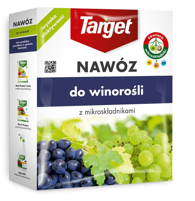 Target Nawóz granulowany do winorośli 1kg 1
