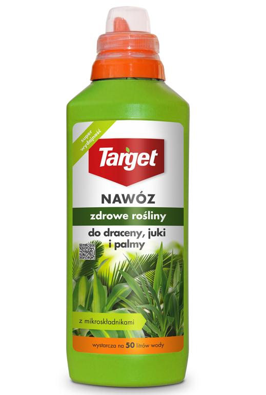 Target Nawóz w płynie Zdrowe rośliny do draceny, juki i palmy 0,5L 1