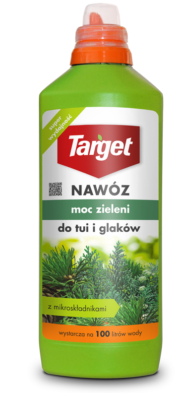 Target Nawóz w płynie Moc zieleni do tui i iglaków 1L 1