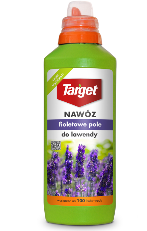 Target Nawóz w płynie Fioletowe pole do lawendy 0,5L 1