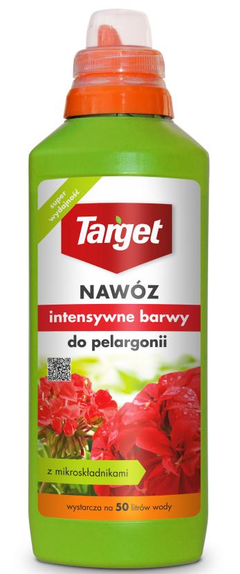 Target Nawóz w płynie Intensywne barwy do pelargoni 0,5L 1