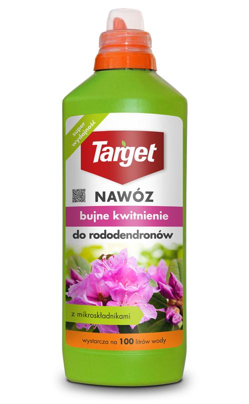 Target Nawóz w płynie Bujne kwitnienie do rododendronów 1L 1