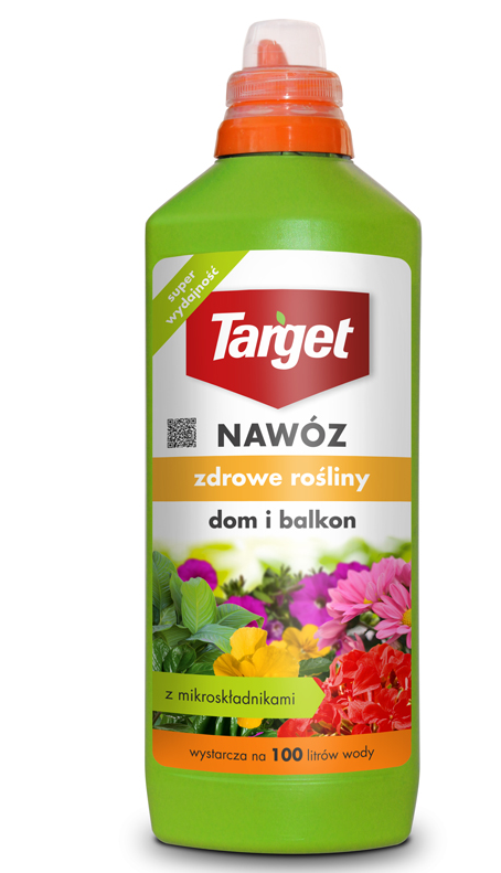 Target Nawóz w płynie do roślin domowych i balkonowych 1L 1