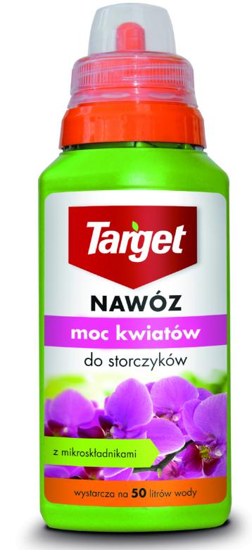 Target Nawóz w płynie Moc kwiatów do storczyków 0,25L 1