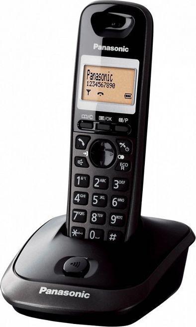 Telefon stacjonarny Panasonic KX-TG2511PDT Czarny  1