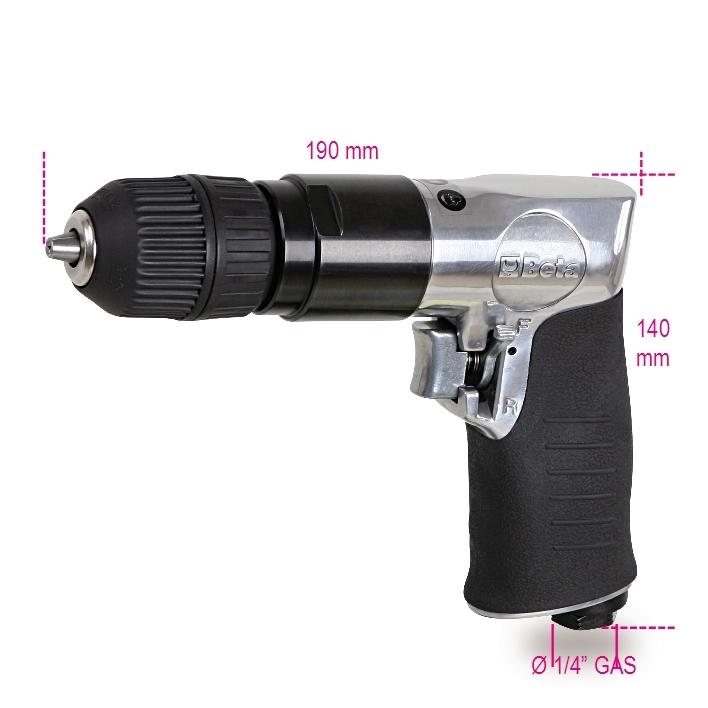 BETA Wiertarka pneumatyczna dwukierunkowa 10mm 6,2bar (019320040) 1