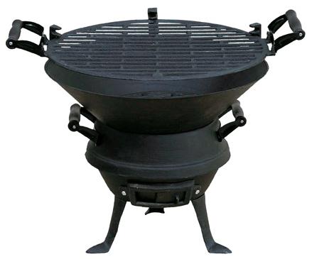 Mastergrill Grill ogrodowy węglowy ruszt żeliwny 35.5 cm (MG630) 1