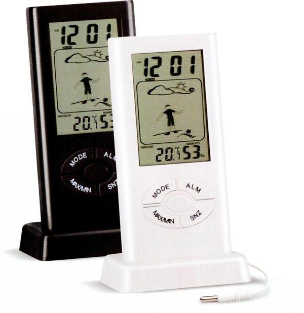 Stacja pogodowa Terdens Termometr elektroniczny stacja pogody zewnętrzny/wewnętrzny (1669) 1