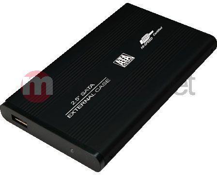 "Kieszeń LogiLink 2.5"" SATA - USB 2.0 Czarna (UA0041B) 1"
