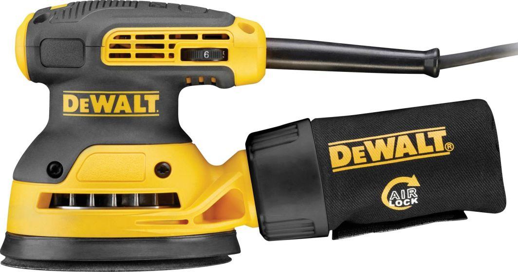 Dewalt szlifierka mimośrodowa 125mm 280W z górnym chwytem (DWE6423) 1
