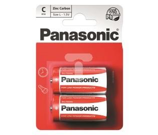 Panasonic Bateria C / R14 2szt. 1