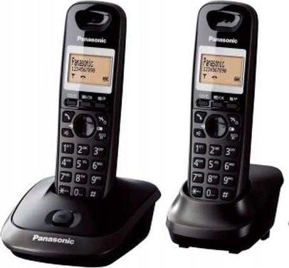 Telefon stacjonarny Panasonic KX-TG2512PDT Czarny  1