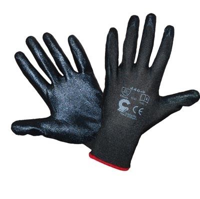 Rękawice robocze Bird czarne 9 (R446CZ9) 1