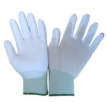 Rękawice robocze Bird białe 10 (R470B10) 1