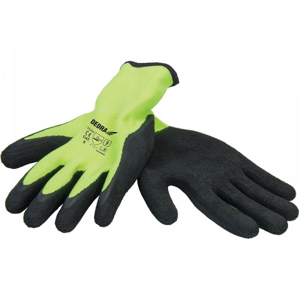 Dedra Rękawice ochronne pokryte pianką lateksową rozmiar 10 (BH1007R10) 1