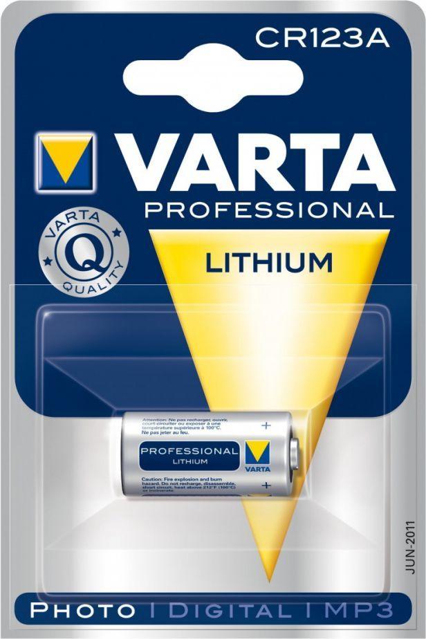 Varta Bateria Professional Lithium CR123 1szt. 1