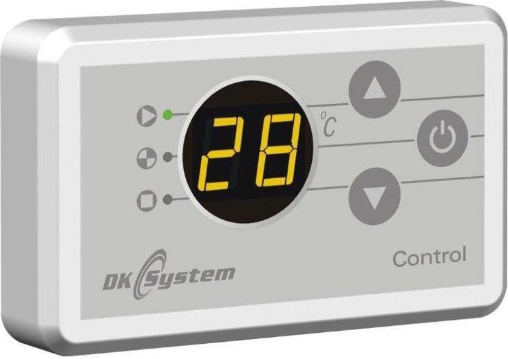 DK System CONTROL - panel pokojowy do sterowania regulatorem pracy kotła lub pomp (109011) 1