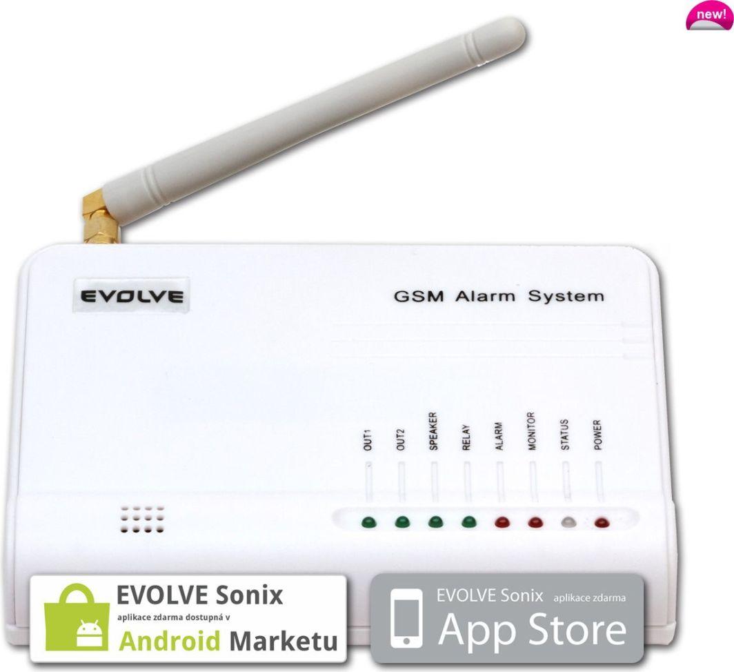 Evolveo Bezprzewodowy Android/ iPhone GSM alarm Sonix 1
