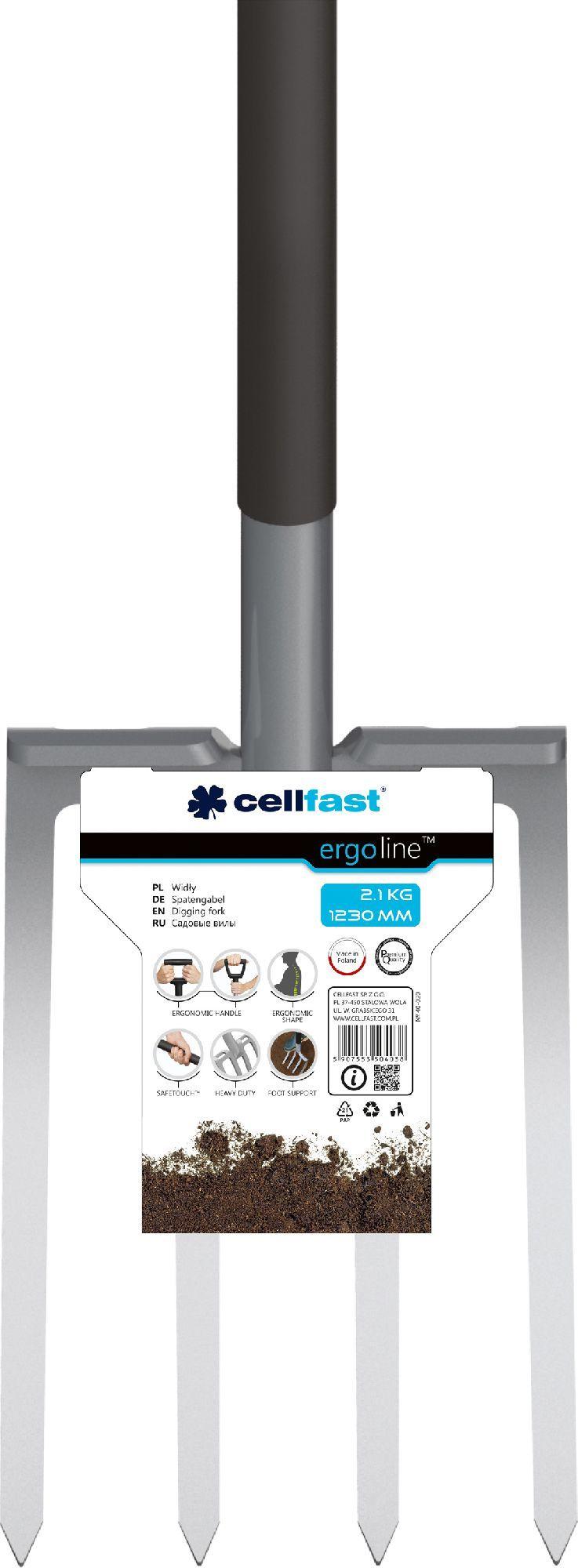 Cellfast Widły stalowe 123cm (40-020) 1