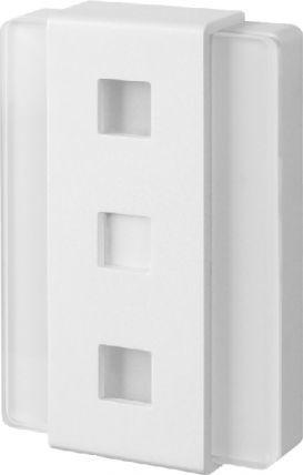 Zamel Gong dwutonowy Glasso GNT-248 biały 1