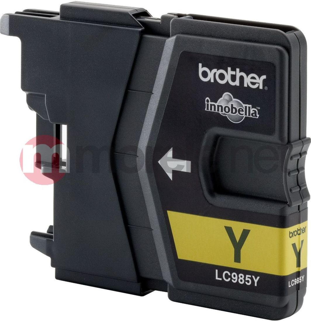 Brother tusz oryginalny LC-985Y (yellow) 1