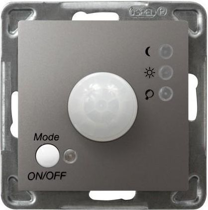 Ospel Elektroniczny czujnik ruchu Impresja tytan (ŁP-16Y/m/23) 1