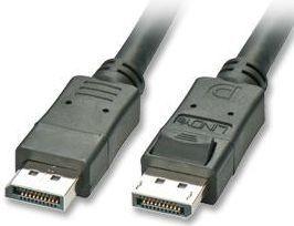 Kabel Lindy DisplayPort - DisplayPort 20m czarny (41327) 1