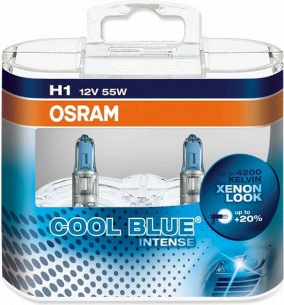 Osram Żarówka samochodowa Cool Blue H1 55W 2szt. (4008321650719) 1