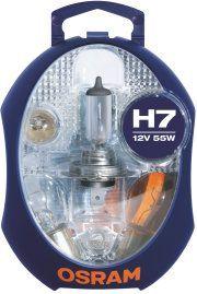 Osram Zestaw żarówek samochodowych (CLKM-H7) 1
