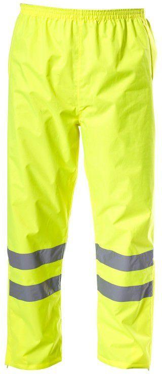 cc577eca0685c7 Lahti Pro Spodnie ostrzegawcze przeciwdeszczowe żółte M (L4100802) w  Budujesz.pl