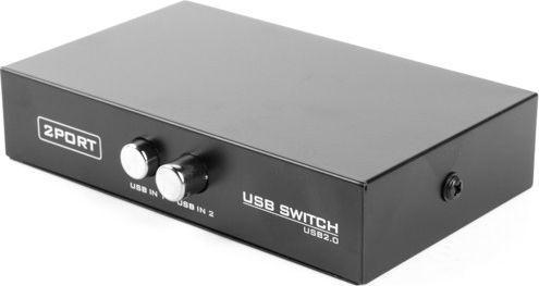 Przełącznik Gembird przełącznik drukarkowy USB 2/1 (DSU-21) 1