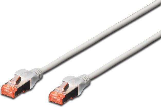 Digitus Kabel krosowy patchcord S/FTP kat. 6 szary 15m (DK-1644-150) 1